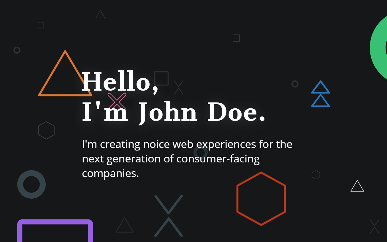 Playful & Colorful One-Page website with Parallax effect